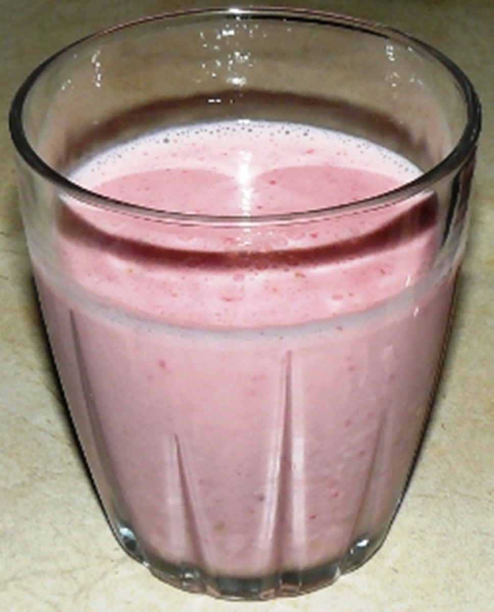 Strawberry Kefir Milk